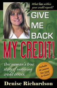 give me back my credit cover